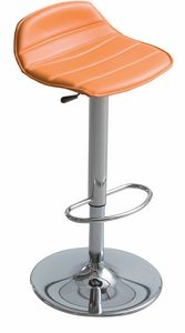 Alhambra Stool 97 A - AV dress, Adjustable, padded stool