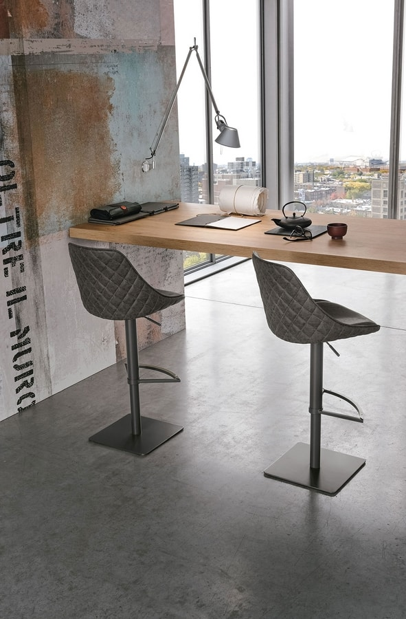 BILBAO SG194, Height adjustable stool