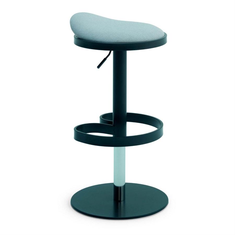Circle SG, Height-adjustable stool