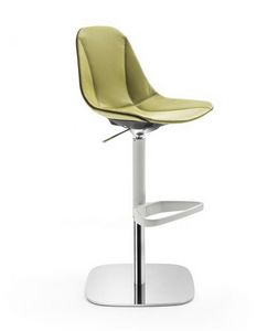 Couture barstool 10.0511, Modern stool, adjustable in height