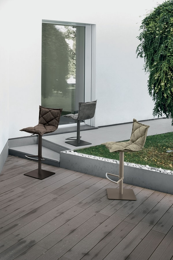 DIGIONE SG185, Adjustable stool, with footrest