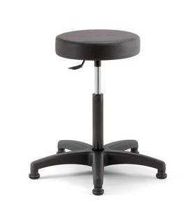Duke Soft 02, Height adjustable stool