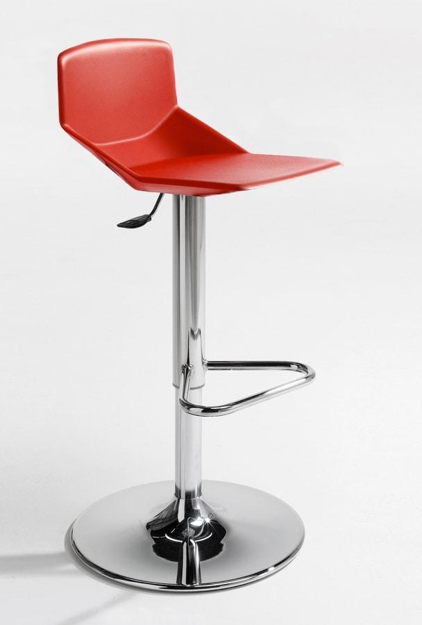 Formula tech STO-ADJ-E, Stool with polyurethane seat