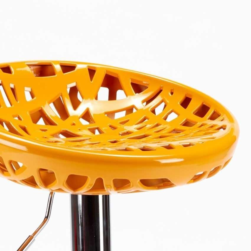 High bar stool kitchen with peninsula MINNEAPOLIS Modern Design - SGA800MIN, Stool with ergonomic nest seat