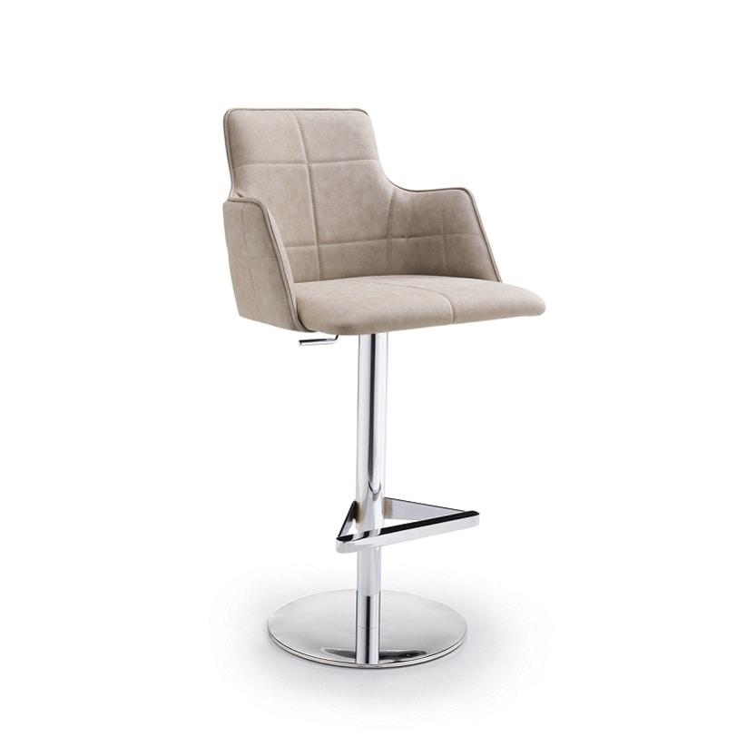 Iris-P SG, Enveloping stool, adjustable in height