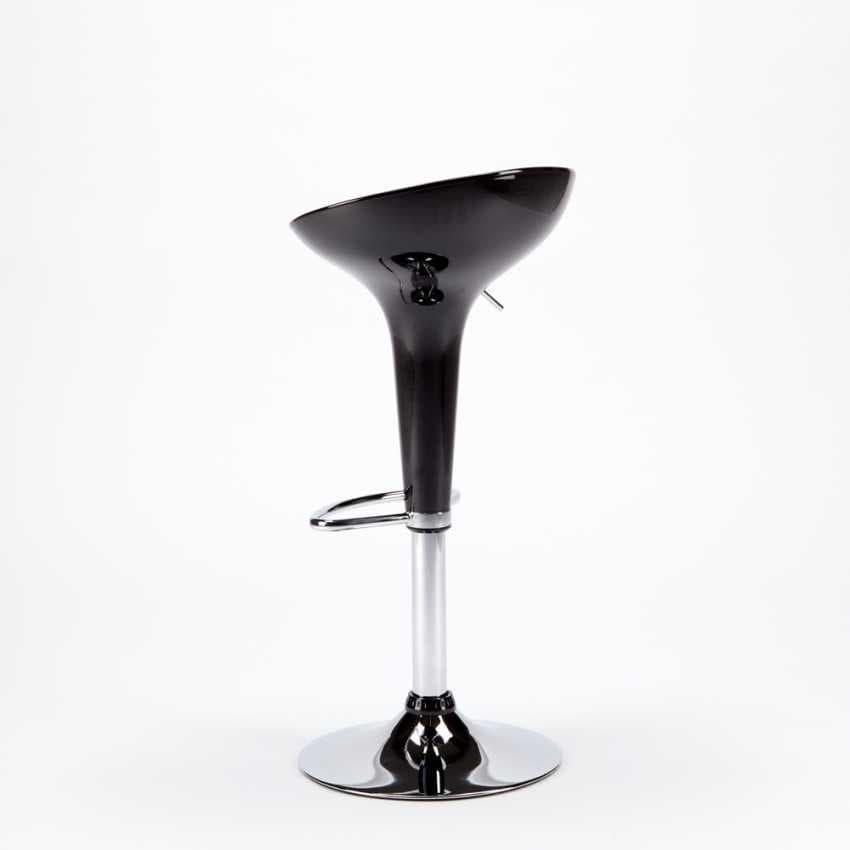 Modern design adjustable and swivel bar stool SAN FRANCISCO - SGA800SFR, Round shaped swivel stool