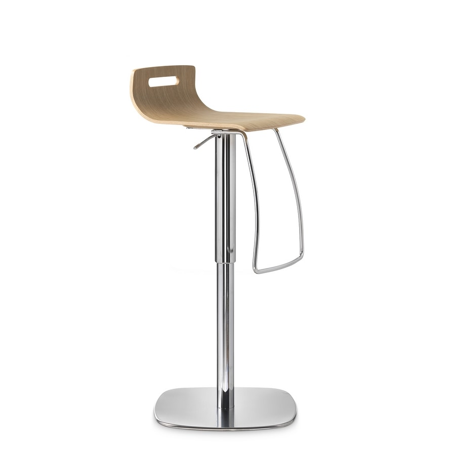 Stilo, Height-adjustable stool