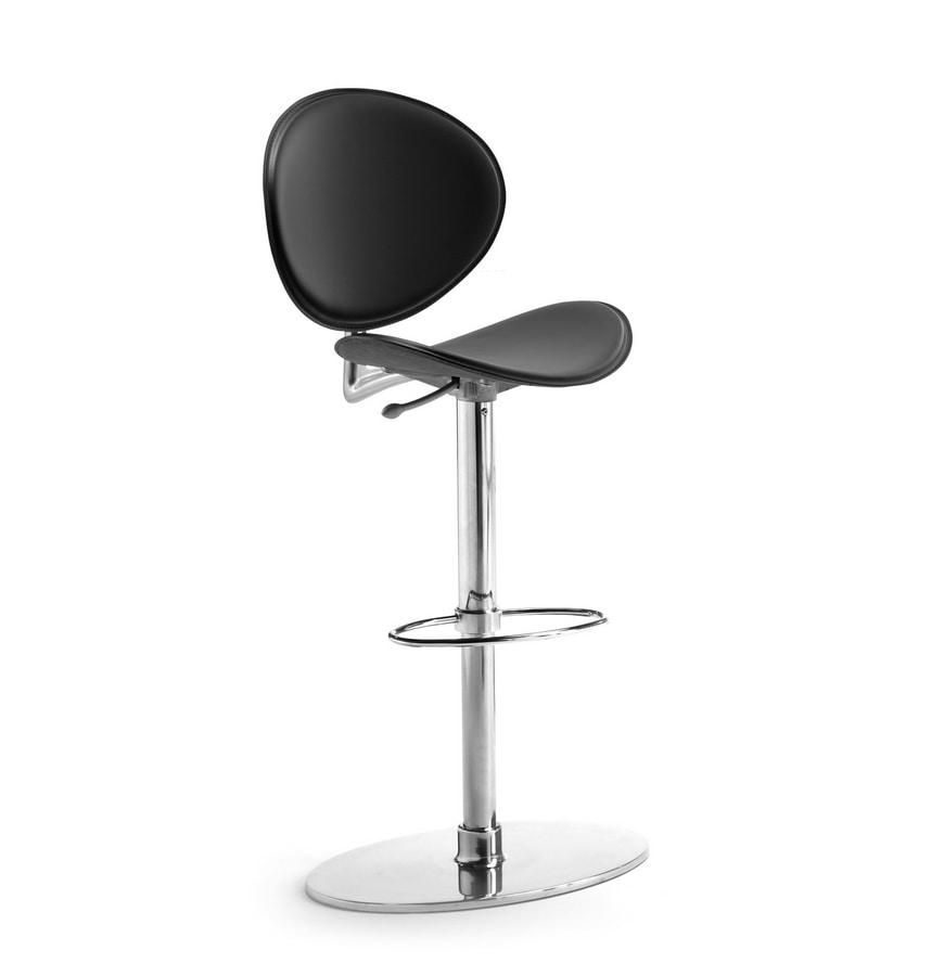 Tamago ST-ADJ, Swivel and height-adjustable stool