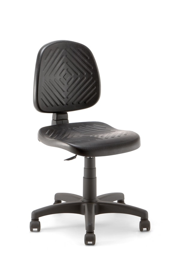 Working 01, Seat adjustable in height