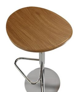 ZIP 191, Stool with oak seat