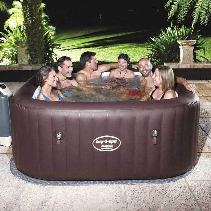 Bestway Inflatable Hydromassage 54173 Lay Z Maldives SPA - 54173, Inflatable mini-pool with whirlpool