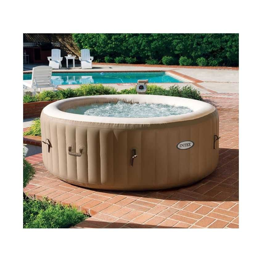 Inflatable whirlpool Intex 28404 Bubble spa round 196x71 - 28404, Inflatable mini-pool with whirlpool