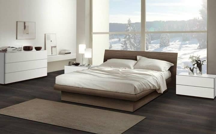 Bedroom 13, Furniture for bedroom, wooden bed with contemporary design
