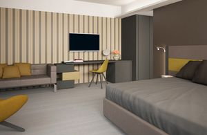 Italian City Hotel, Complete furniture for hotel bedroom
