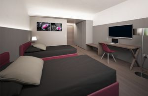 Neutral Mood, Modern furniture for hotel room