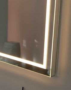 Nuxe E300, Mirror with LED illuminated frame