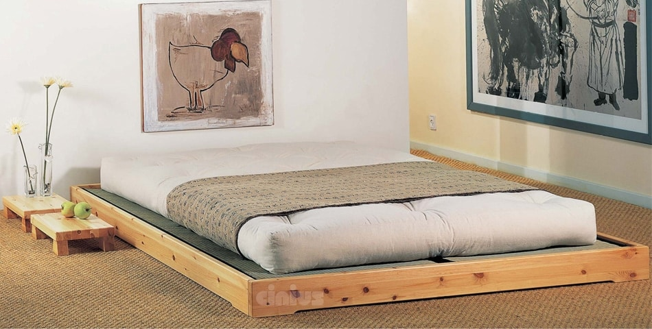 Nokido, Low Japanese bed with tatami