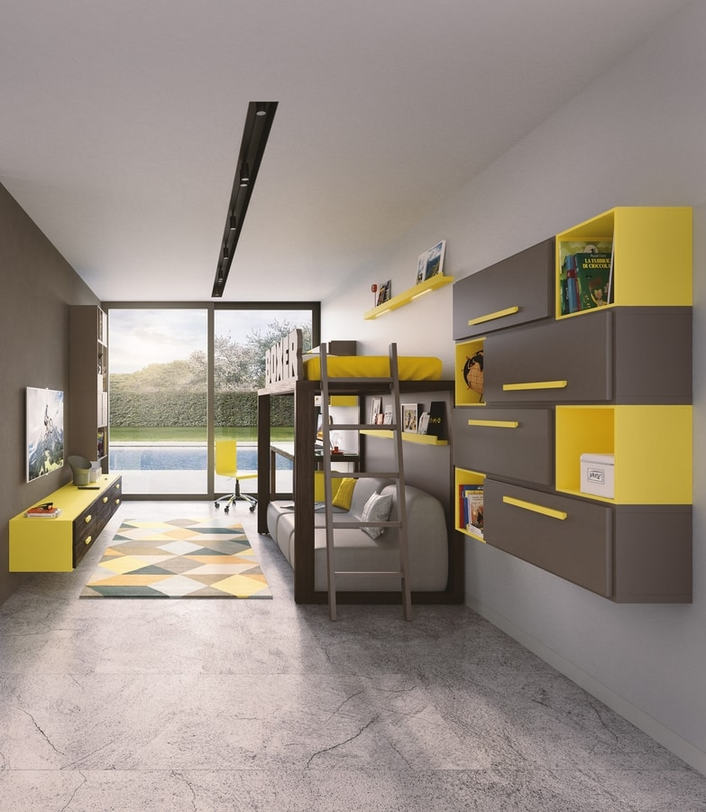 Boxer 1820, Kid bedroom with a loft bed