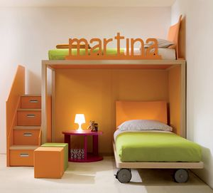 Boxer 7020, Bunk bed customizable with your name