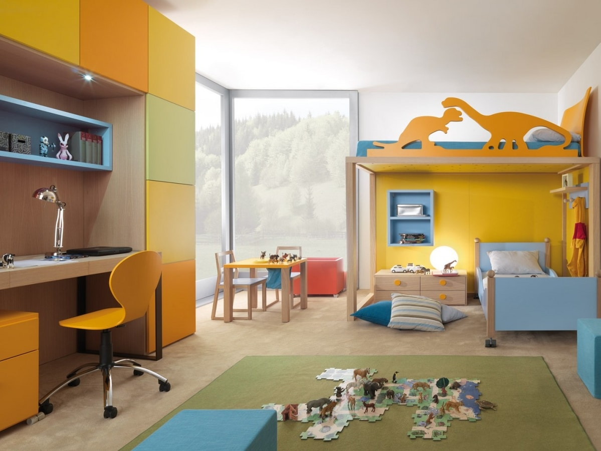 Boxer 9001, Kid bedroom with bunk bed