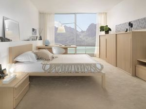 Boxer 9005, Complete furniture for bedroom, with sliding wardrobe
