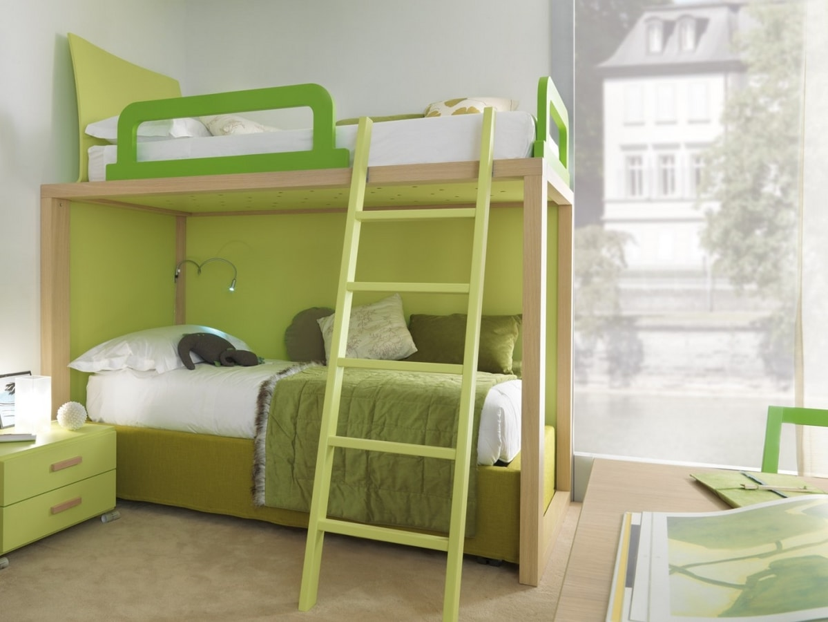 Boxer 9007, Bedroom with bunk beds