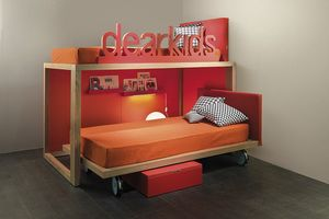 Boxer small, Space-saving bunk bed