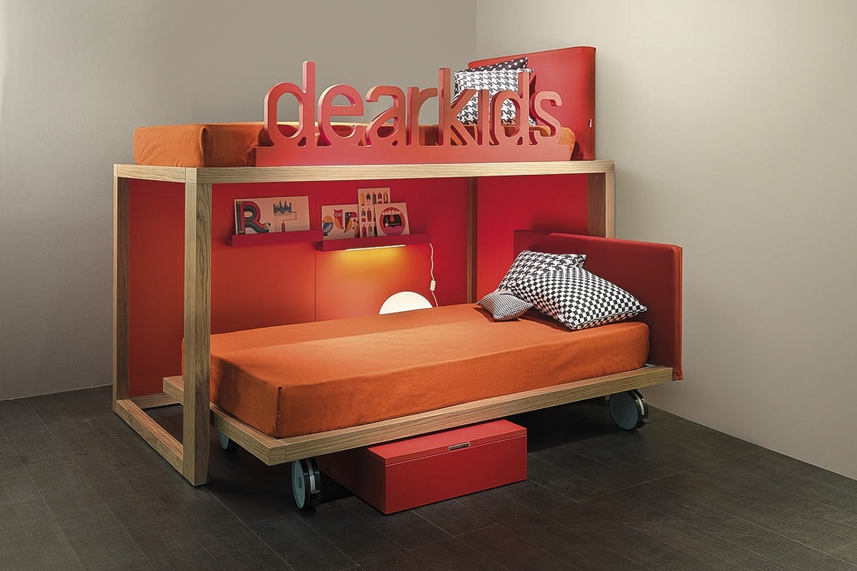 Picture of: Space Saving Bunk Bed Idfdesign