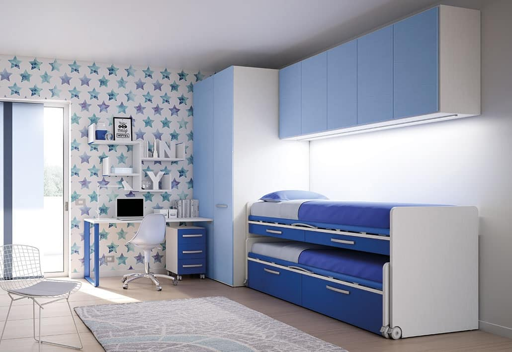 Bridge KP 209, Children Bedroom With Pull Out Bed, High Quality