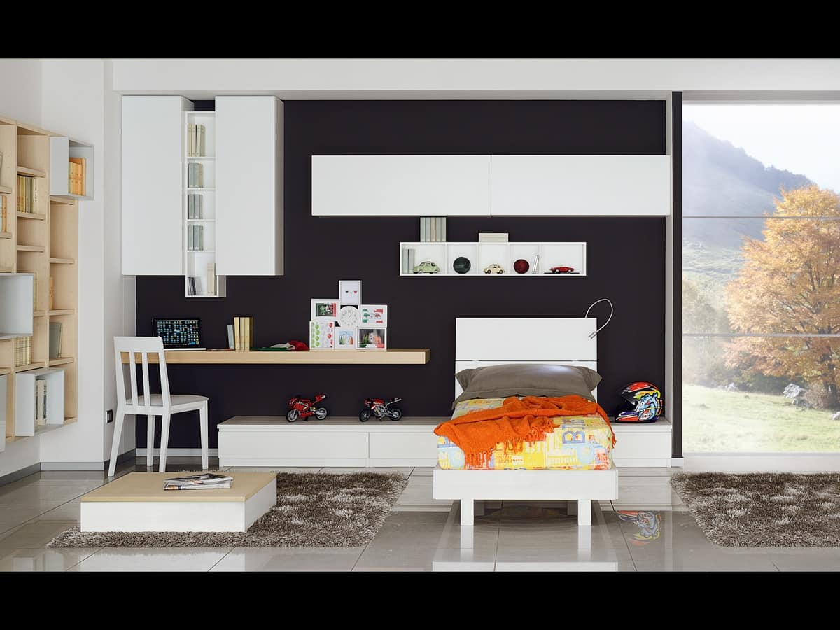 Climb Youngs 01, Room for kids, modern and dynamic style