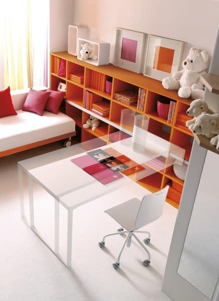 Comp. 112, Bright bedrooms in modern style