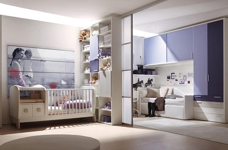 Comp. 201, Boy bedroom, flexibility and integration