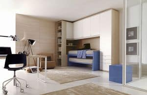 Comp. 205, Personalized children's bedroom, rationalization of the areas