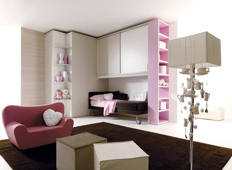 Comp. 207, Children's bedroom in modern style
