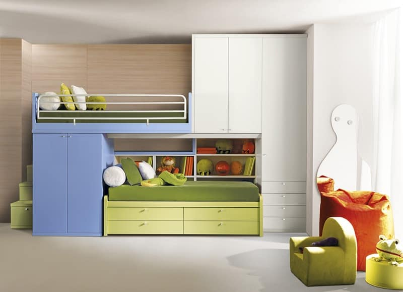 Comp. 406, Modular room for children
