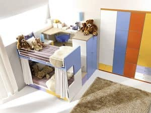 Comp. 908, Colorful eco-friendly functional Bedroom