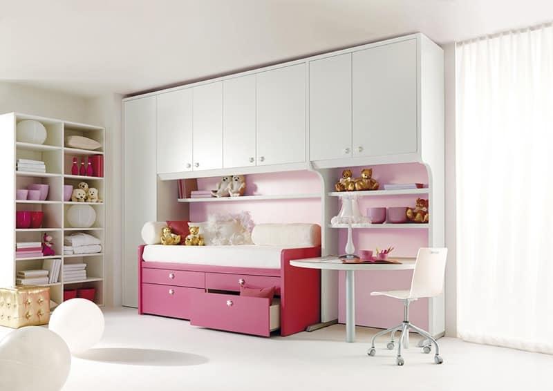 Furniture for childrens\' bedroom, modular components | IDFdesign