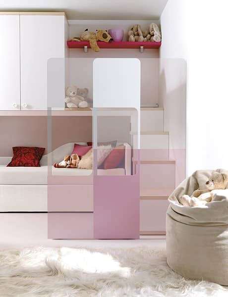 Comp. 940, Bed for children, numerous accessories and variants