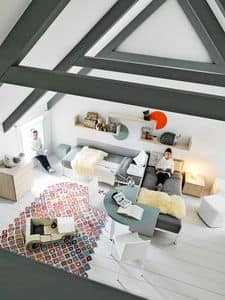 Comp. New 167, Children's bedroom, to organize the space creatively
