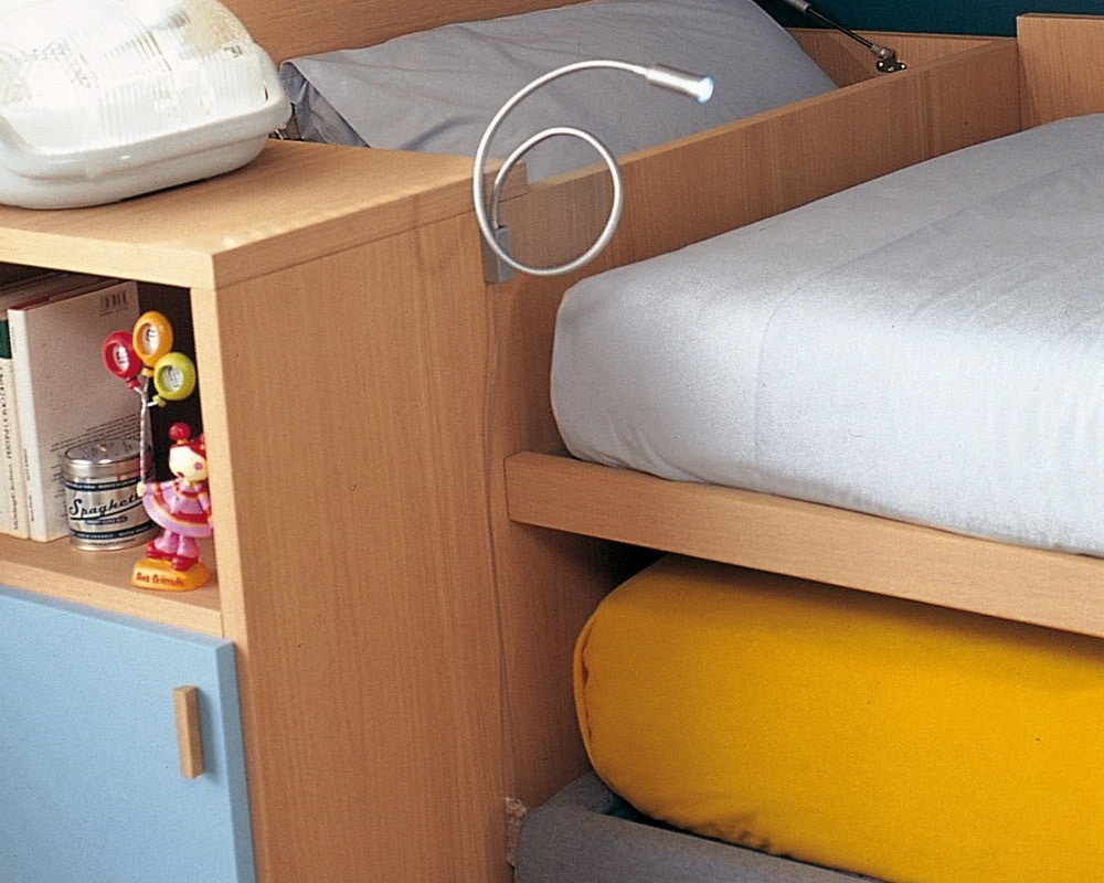Compact 4005, Bedroom with second pull-out bed