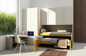 Cool comp.12, Kid bedroom with space-saving beds