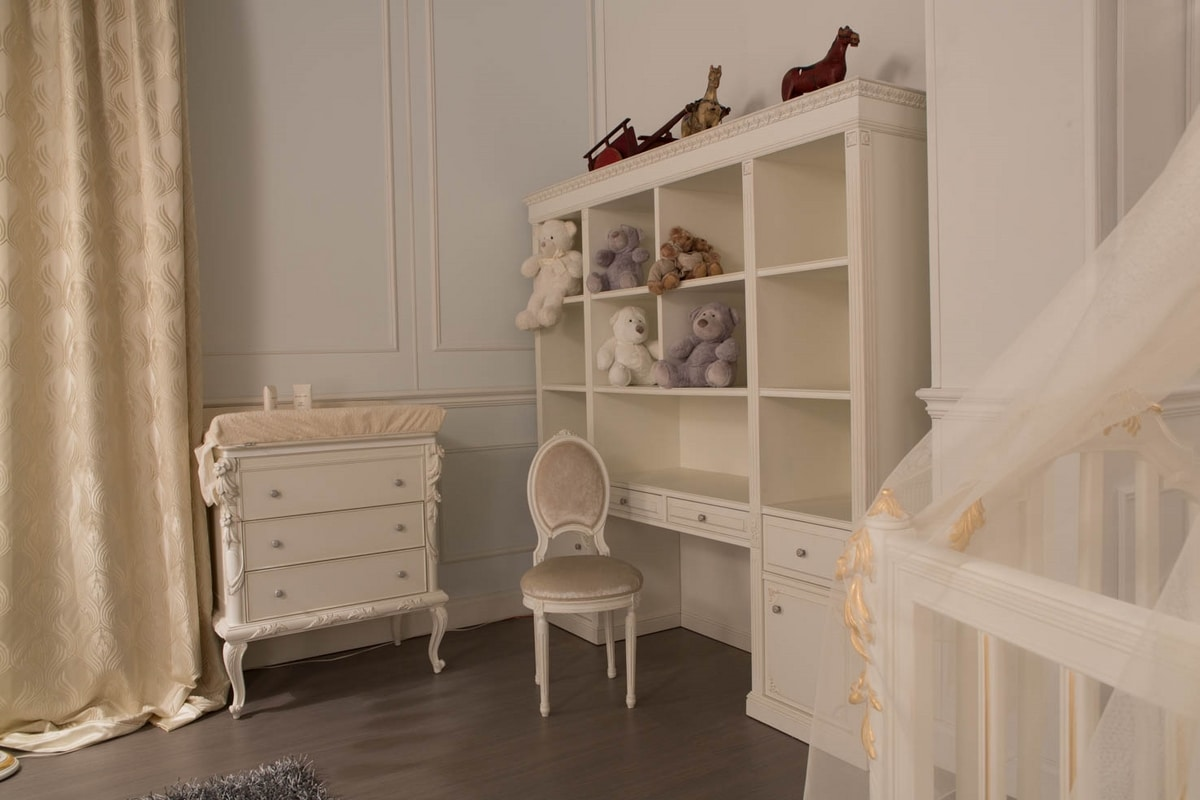 Happy kid bedroom, Elegant kid bedroom in classic style