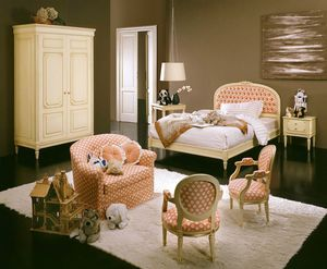 Hello kid bedroom, Classic style kid bedroom