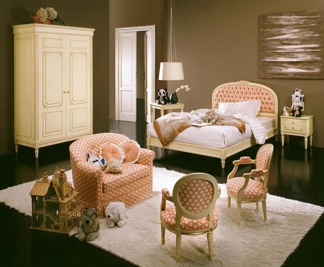 Hello kid bedroom, Classic style kid bedroom