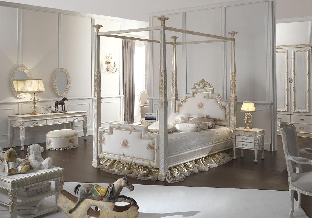 Honey kid bedroom, Kid bedroom with canopy bed