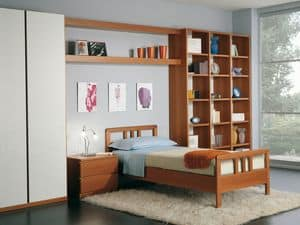 Kids Bedroom 02, Modular bedroom in modern style