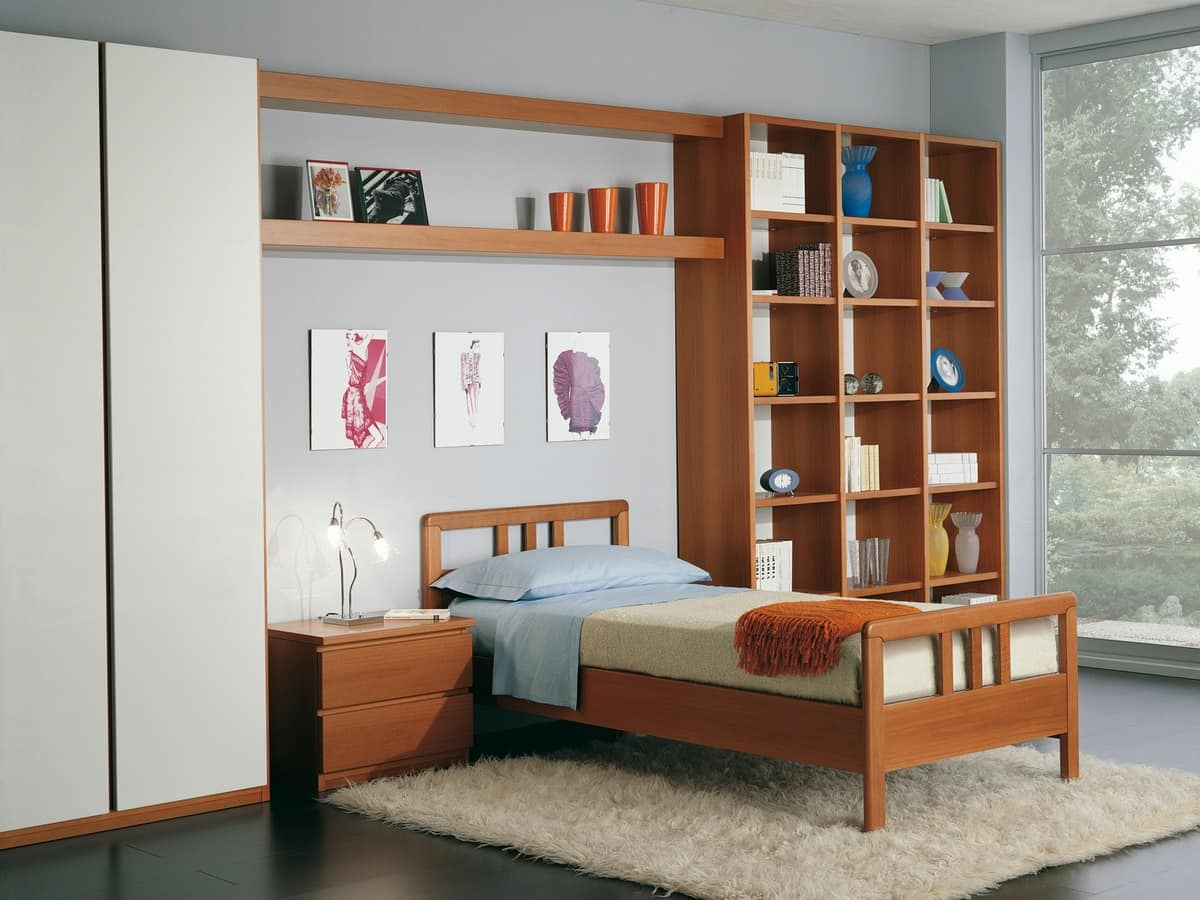 Kids Bedroom 02, Modular bedroom in modern style