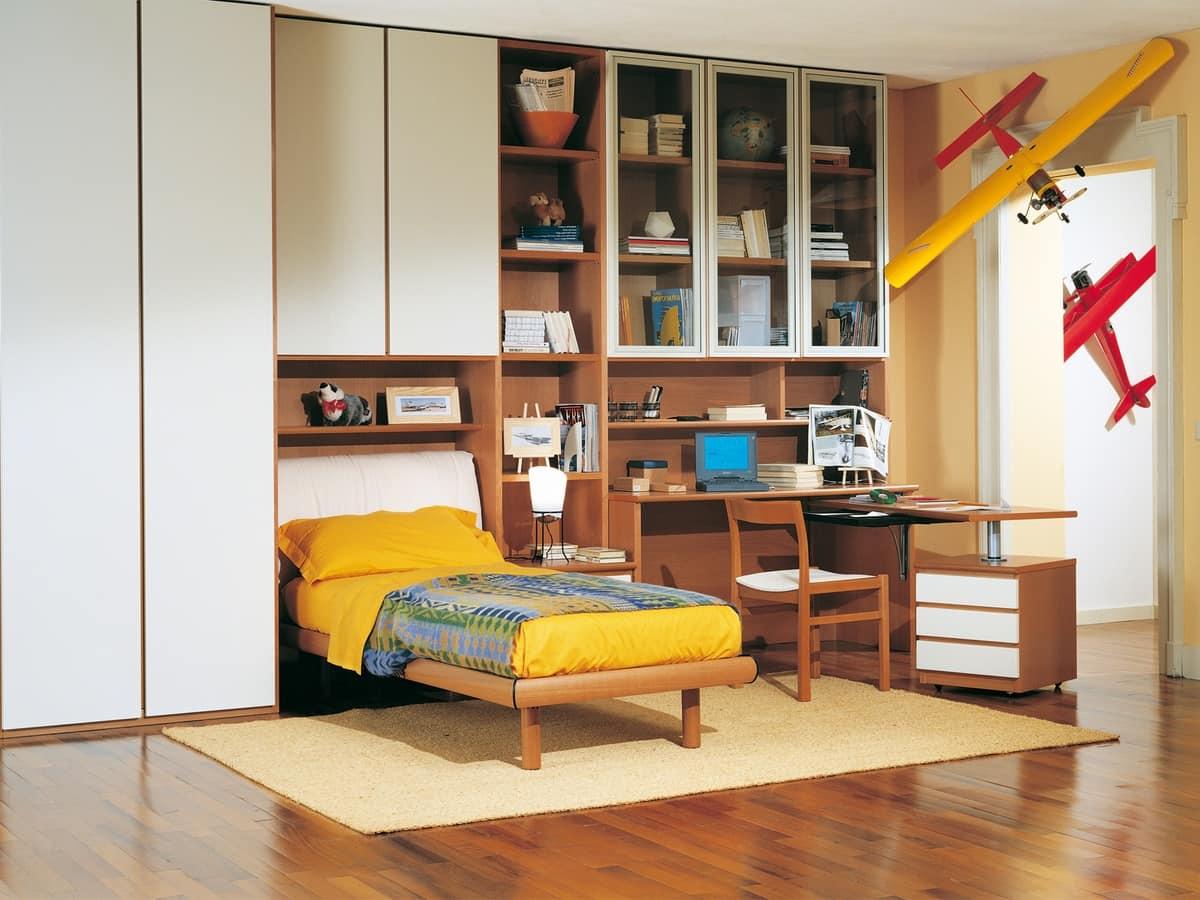 Kids Bedroom 06, Modular bedroom for boys, high quality