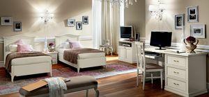 Nostalgia Ricordi kid bedroom, Lacquered wood kid bedroom