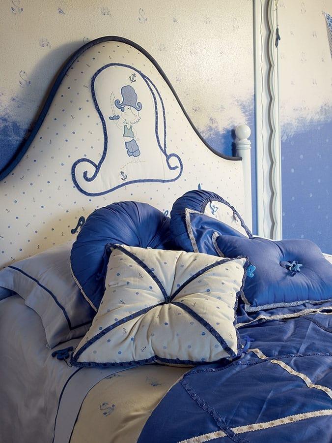 Onda con Pirata, Kid bedroom with pirate decoration